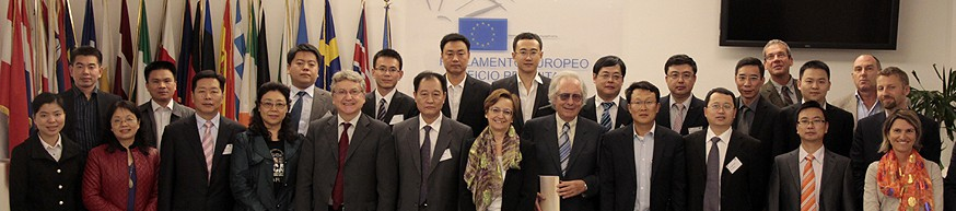 Rom EU Vertretung Gruppe