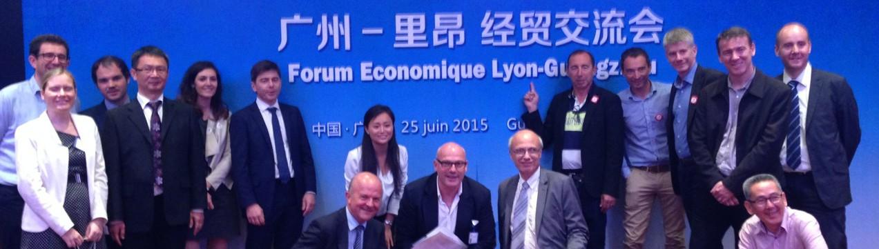 Lyon Delegation Guangzhou 20150625