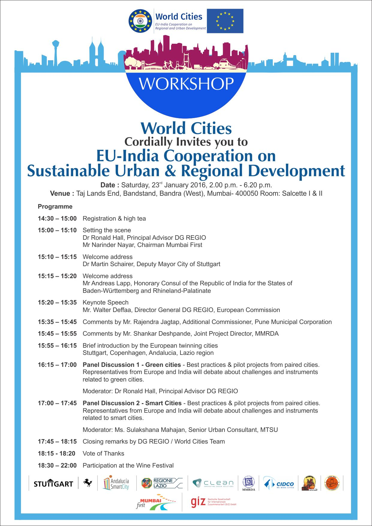 23 Jan 2016 – Conference in India |