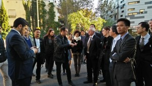 Explanation by the leader of the superblock development project in the citiy of Barcelona