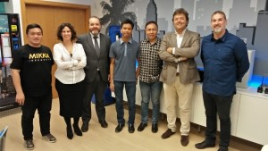 Visit to Smart City Management Office in Malaga City Spain